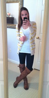 What She Wore 365: Day 39. Ketchup & Mustard, Stripes & Mustard