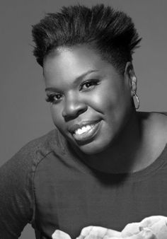"Leslie Jones, American comedian & actress. She is a cast member & writer for Saturday Night Live. Her addition to the cast marked the first time in SNL history that the show's cast has included more than one African-American woman. She also starred in Ghostbusters, Top Five, & Trainwreck, had a Showtime stand up special, & appeared in several comedy festivals. She gained attention as a Team USA ""superfan,"" & covered the Rio Olympics for NBC. She is a graduate of Colorado State University."