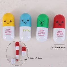 Chinese cute pills pen MOQ 100 pcs