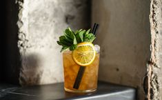 I am...I Said (sherry-driven cocktail) - This drink, plucked from the mind of Morgan Schick, the bar manager at San Francisco's Trick Dog, began as a mash-up of the Mint Julep and the Sherry Cob