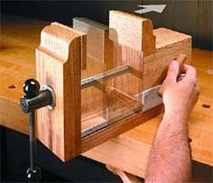 Quick-Release Rear Jaw for home built vise