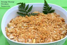Creamy Cheesy Chicken Casserole! Easy and delicious!!   #PreparetoParty #ad