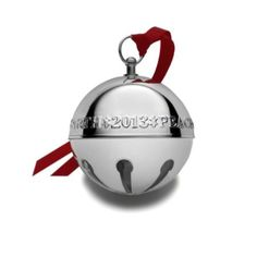Amazon.com - Wallace 2013 19th Edition Sterling Silver Sleigh Bell Ornament