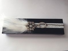 Feather Necklace Glamour Gift Wrap