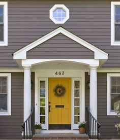 Mustard color for front door?