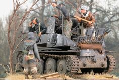 A Marder III Ad.Kfz.139 Diorama from a Tamiya 1/35 Scale Plastic Model kit @ http://www.hobbylinc.com/tamiya-german-marder-iii-tank-destroyer-plastic-model-military-vehicle-kit-1:35-scale-25161