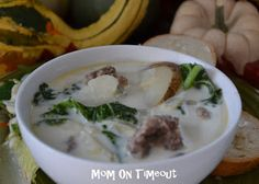 Mom On Timeout: Olive Garden Zuppa Toscana Soup