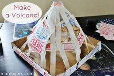 Homemade Volcano Science project