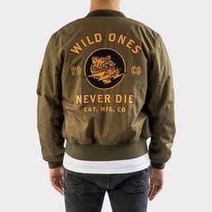 Wild Ones Ripstop Bomber Jacket