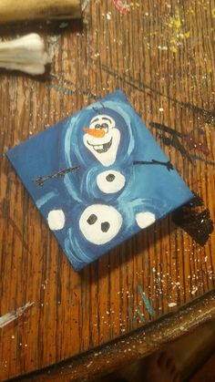 Olaf Disney frozen inspired fanart acrylic painting mini canvas artfashion style stylish love c Olaf Disney frozen inspired fanart acrylic painting mini canvas artfashion style stylish love c Sophie Schulz DIY Olaf nbsp hellip Disney Canvas Paintings, Disney Canvas Art, Kids Canvas Art, Canvas Art Quotes, Small Canvas Art, Easy Canvas Painting, Mini Canvas, Mini Paintings, Art Kids