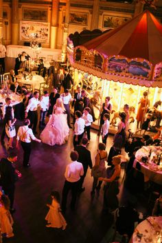 Insane Italian Vintage Circus Wedding: Michelangelo  Francilla