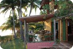 Dining in Pedasi - lots of great eating choices in this little town on the southeast coast of Panama's Azuero Peninsula