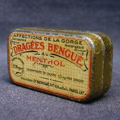 Cocaine pastils