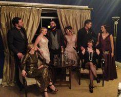 1920s NYE Ball. Couple of these dresses are my creation. We had a fantastic time. Love dressing up.