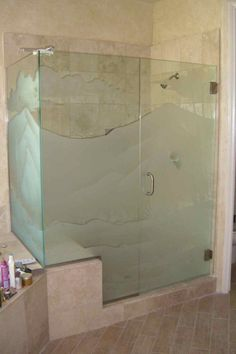 Nice idea for bathroom Custom Shower Doors, Glass Shower Doors, Glass Showers, Bathroom Showers, Bathroom Layout, Bathroom Designs, Bathroom Ideas, Shower Ideas, Cabin Interiors