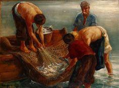Udvary Pál: Balatoni halászok