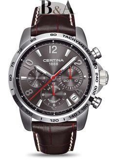 Certina DS Podium Automatic Valgranges Chrono C001.614.16.087.00 #luxurywatch #certina-swiss Certina Swiss Watchmakers watches #horlogerie @calibrelondon