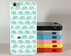 Elephants iPhone 4 Case,Elephant iphone 5 cover iPhone 4 4g 4s Hard Case,skin case for iphone 4/4g/4s/5 case cover, Rubber, Personalized