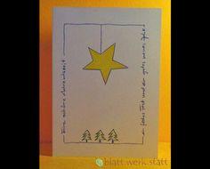 **Motiv: Weihnachtsstern Hochwertige Klappkarte mit individuell auf deine Wünsche angepasster Gestaltung inclusive passendem Umschlag. DIE ganz besondere Karte zu Weihnachten oder schon in der...