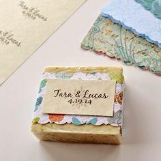 Diy soap favors