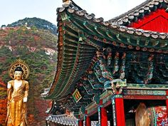 To honor Buddha's birthday, we take you to the Beopjusa Temple in Mt. Songnisan National Park in the province of Chungcheongbuk-do, South Korea