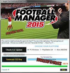 Football Manager 2015 Keygen