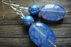 Blue Dragon Blue Dragon, Beaded Bracelets, Pendant Necklace, Jewelry, Jewlery, Jewerly, Pearl Bracelets, Schmuck, Jewels