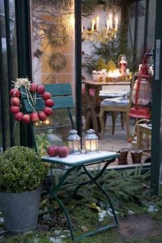 Winter tuin inspiratie