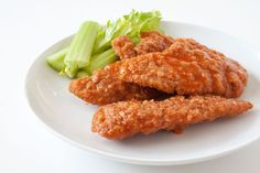 Buffalo Chicken strips.   We tried these and are going to do them again Fantastic!!!! -Fleck family approved haha