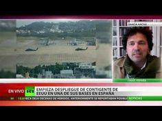 Las tropas de EE.UU. movilizadas en España