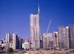 Condo Construction on the western edge of Toronto's downtown core