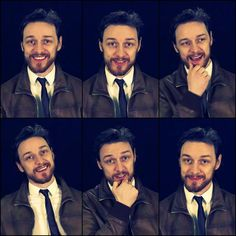 James McAvoy ... Good lord ... :)  :)  :)  :)  :)