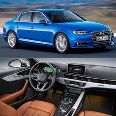 Audi A4 Ambition 2017 Mercado brasileiro recebe a versão top de linha da nona geração do Audi A4. Equipado com motor 2.0 TFSI de 252 cv e tração nas quatro rodas o carro já está disponível nas concessionárias por R$ 244 mil.  O sedã tem 473 m de comprimento e distância entre-eixos de 282 m. Os espelhos externos são montados nas portas dianteiras como nos carros esportivos. A nova versão traz rodas de liga leve com 18 polegadas de série.  O 2.0 TFSI desenvolve 252 cv de potência e 370 Nm de…