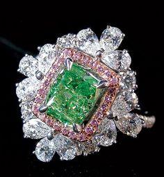 Rare Green Diamond