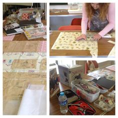 """""""Pattern to Product"""" one day course during the summer school 2014 at Cowbridge Community College."""