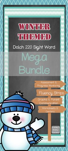 Looking for a great resource to use this winter with your students to practice sight words!