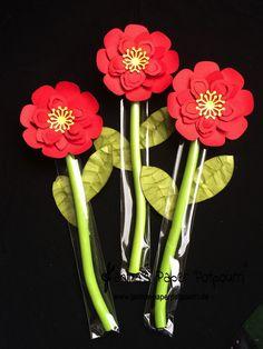 jpp - Süße Blume / Sweets Flower / Candy Core  Goodie / Spring / Frühling / treat / Mitbringsel / Stampin' Up! Berlin / Botanical Blooms / Pflanzen Potpourri / Blütenmedaillon / Blütenrahmen / Framelits Laub  www.janinaspaperpotpourri.de