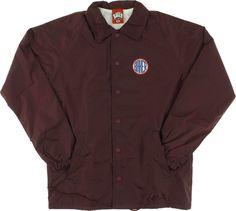 Baker Rotc Coaches Jacket L-Maroon