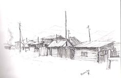 Sketches, Snow, Outdoor, Drawings, Outdoors, Outdoor Games, Doodles, The Great Outdoors, Sketch