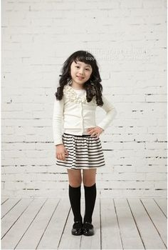 Girls Baby Top Coat+Skirt 2-Piece Kids Outfit Knitwear Dress 2-3Y Clothes Beauty | eBay