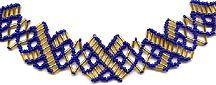 """X"" necklace Pattern"