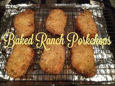 Stilettos and Sass: Baked Ranch Pork Chops