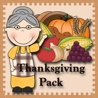 Free Thanksgiving Pack! Over 120 pages of activities for ages 2 to 8.