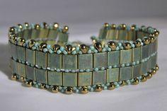 Tila Bead bracelet ~ nice colors  love the edging...