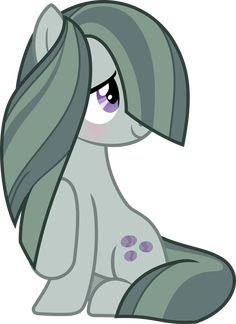 Marble Pie Blush Vector by TheFrostSpark on DeviantArt Mlp My Little Pony, My Little Pony Friendship, Marble Pie, Chibi, Mlp Characters, Happy Cartoon, Little Poney, My Little Pony Pictures, Anime Toys