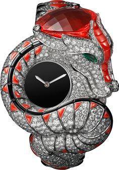 Rosamaria G Frangini | High Watches Jewelry | High Animal Jewellery | Dragon Mystérieux Watch
