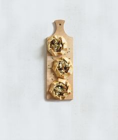 Mini Artichoke and Onion Tarts   Vegetarian Times