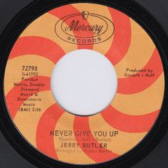 Never Give You Up - Jerry Butler (1968)