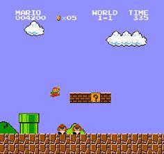8-bit mario, Mario, screenshot
