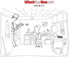 Finally, a place to manage your anger without harming a soul... www.whackyourboss.com